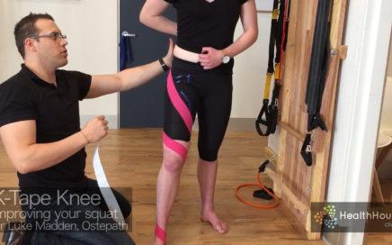 Knee Taping Squat